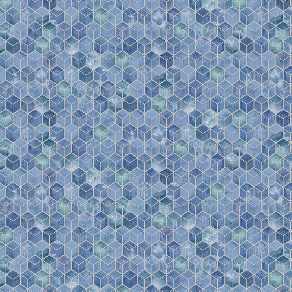 Tafoni Wallpaper - Navy - by Albany