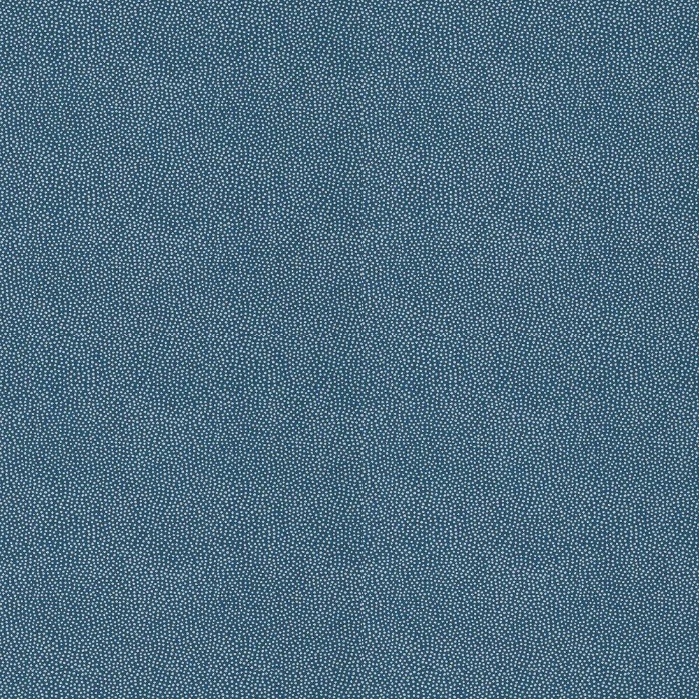 Turini Dots Wallpaper - Navy - by Thibaut