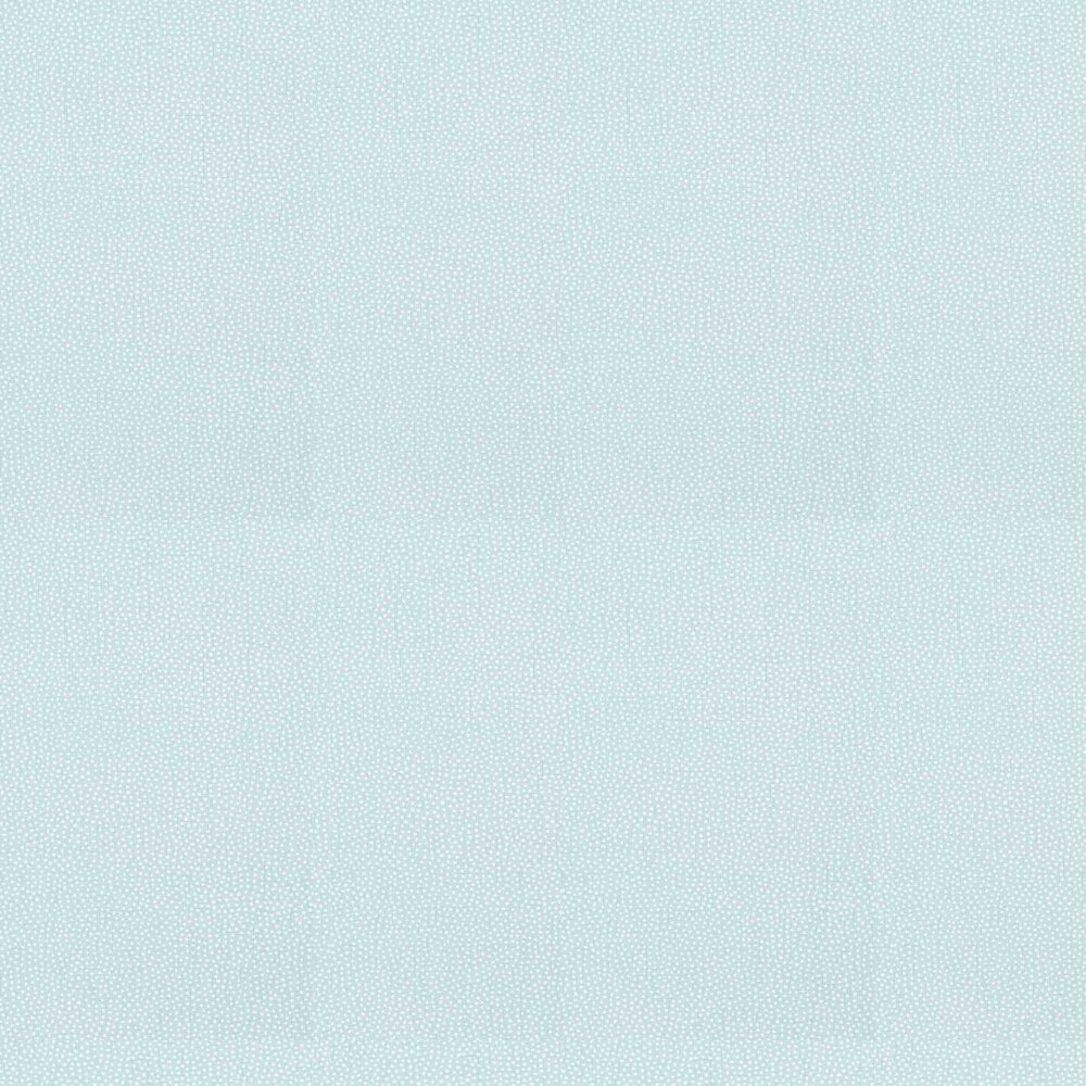 Turini Dots Wallpaper - Aqua - by Thibaut