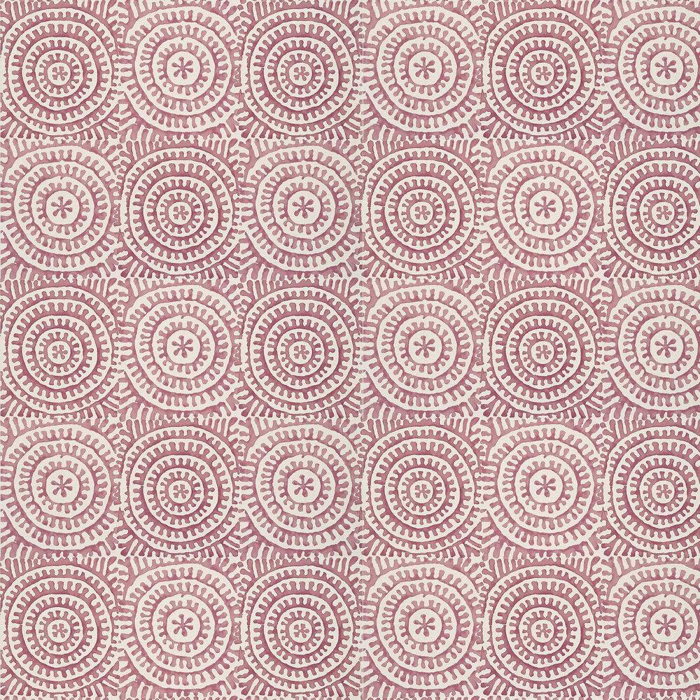 Kasai Wallpaper - Plum - by Thibaut