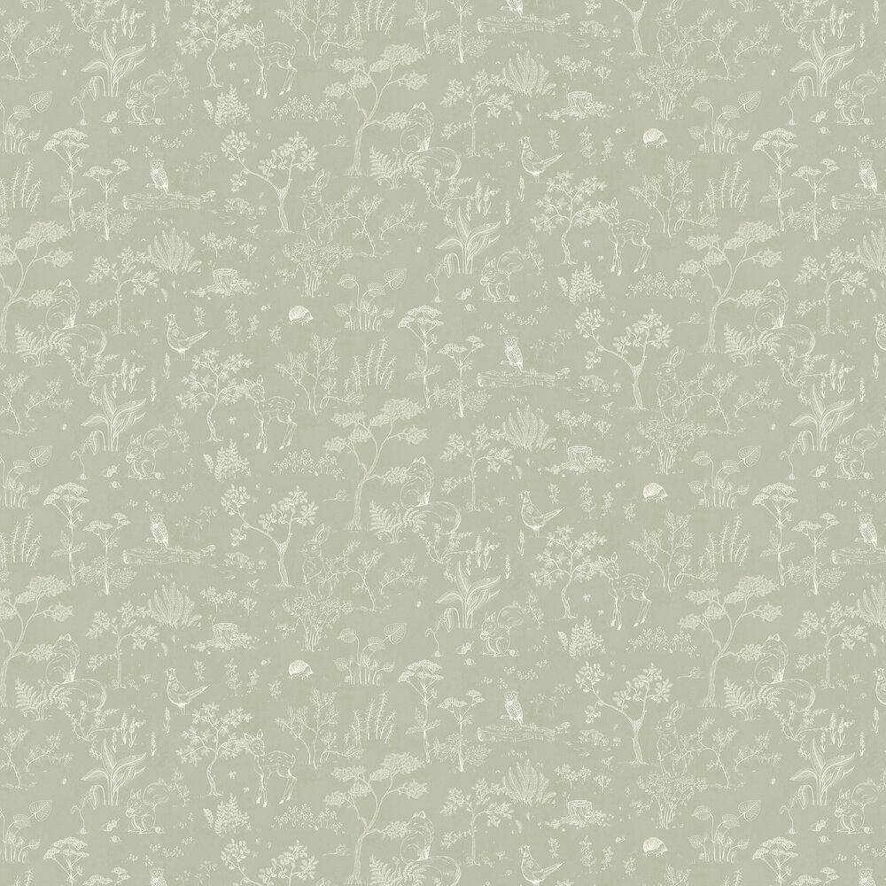 Sandberg Hollie Green Wallpaper - Product code: 232-38