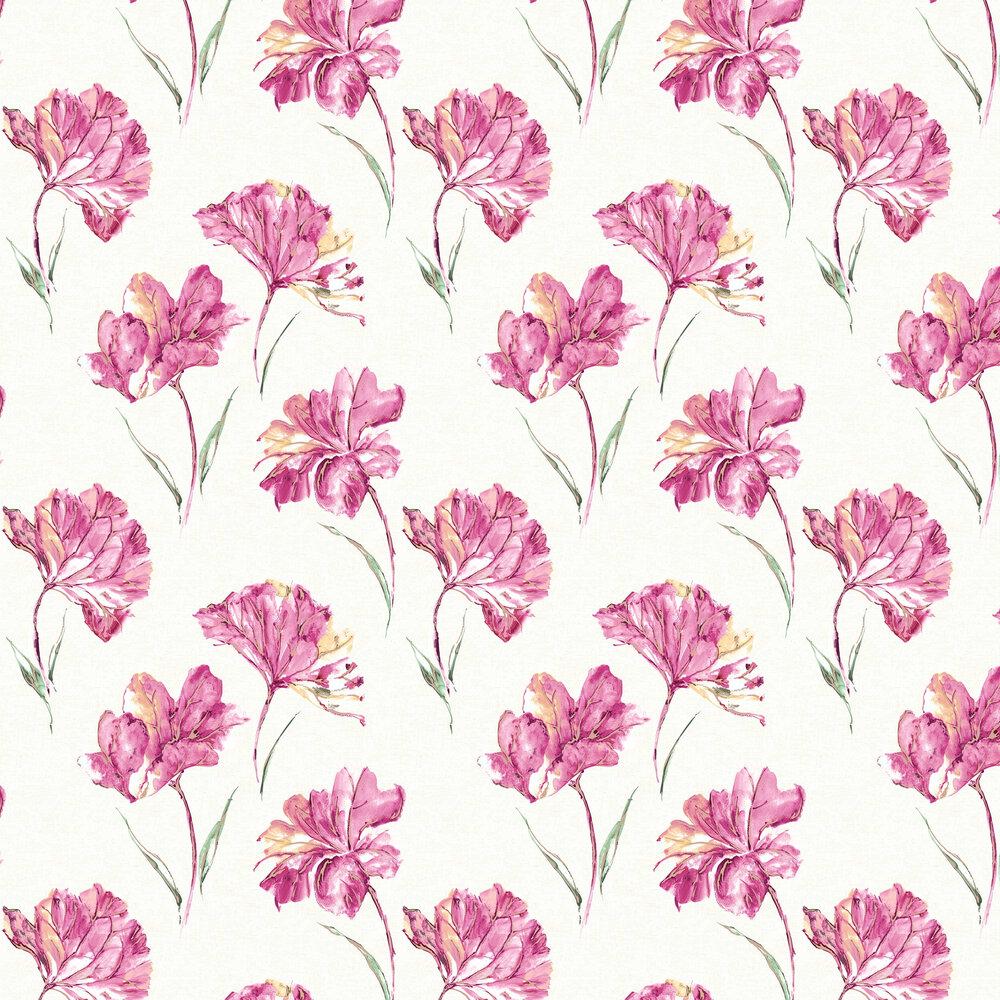 Azalea Wallpaper - Pink - by Albany