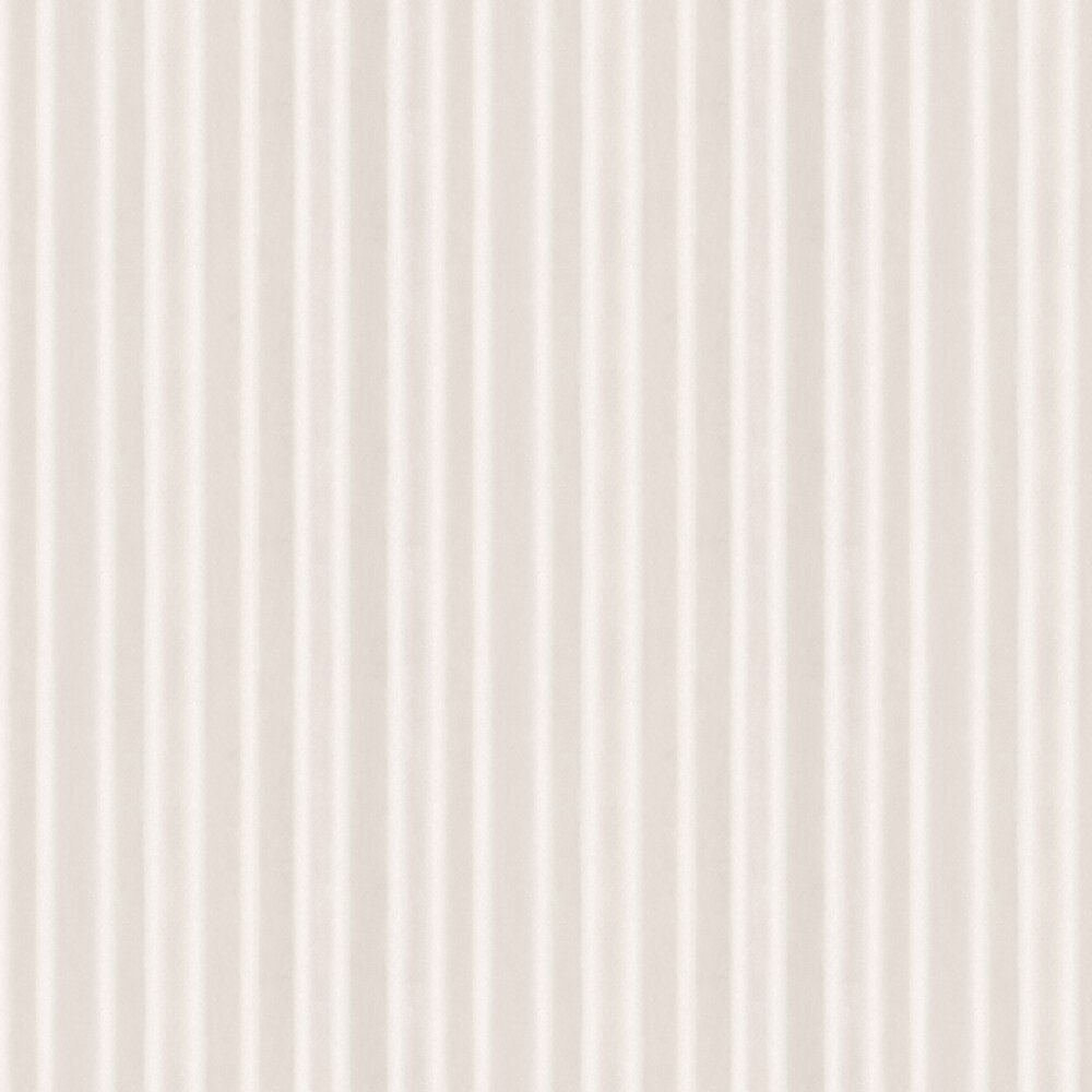 Watercolour Stripe Wallpaper - White, Beige and Powder Pink - by Boråstapeter