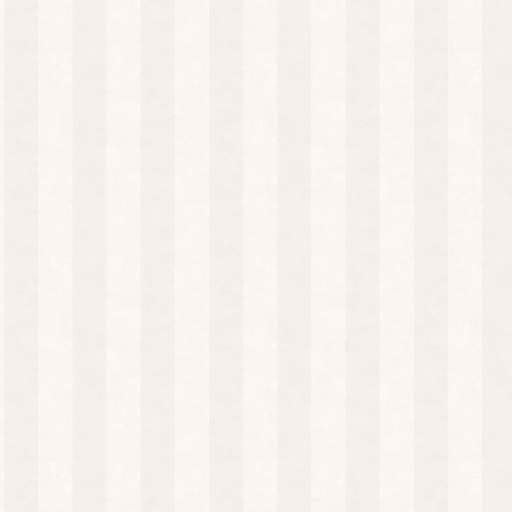 Chalk Stripe Wallpaper - Light Grey - by Boråstapeter