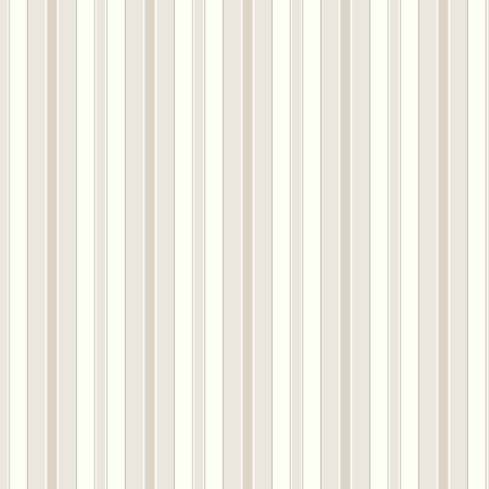 Boråstapeter Stockholm Stripe White and Beige Wallpaper - Product code: 6880