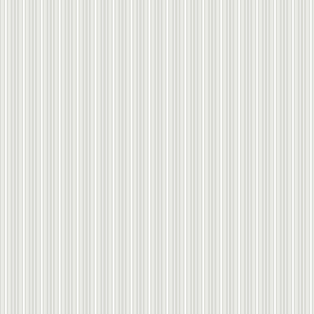 Noble Stripe Wallpaper - Grey and White - by Boråstapeter