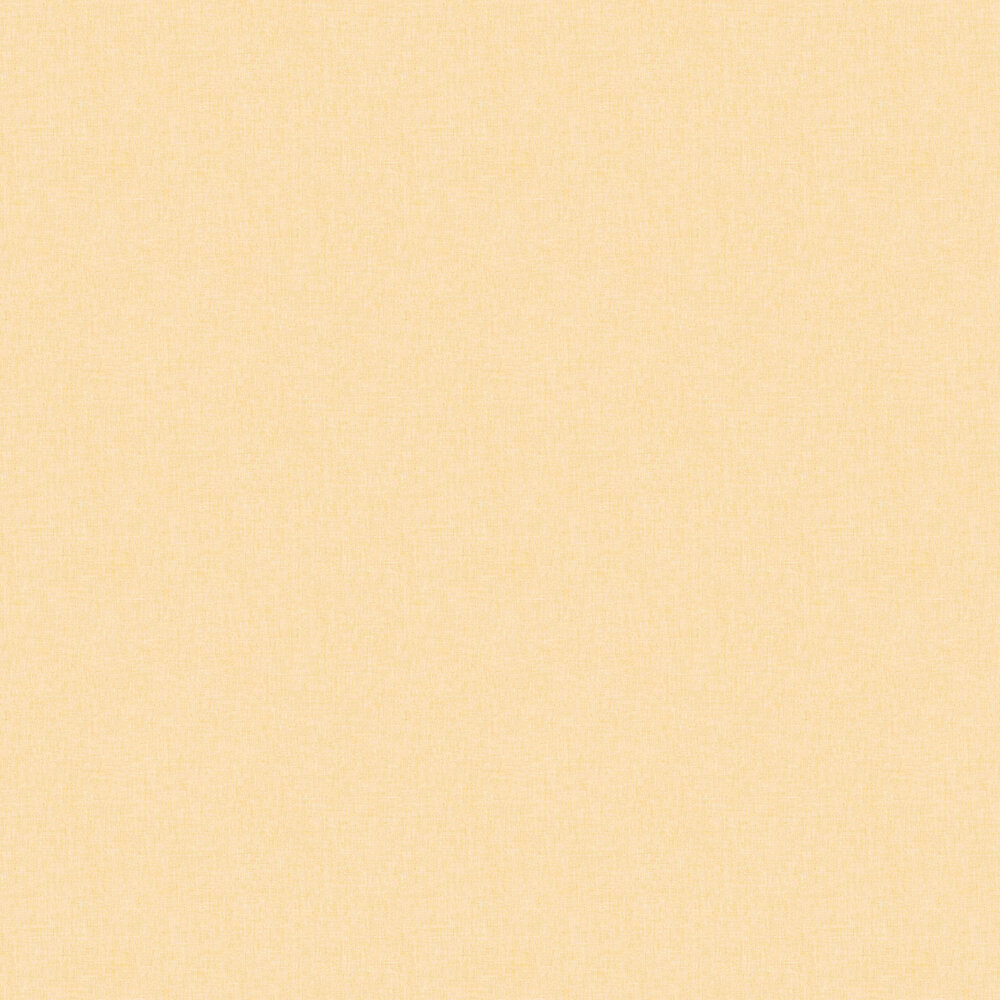 Linen Wallpaper - Yellow - by Caselio
