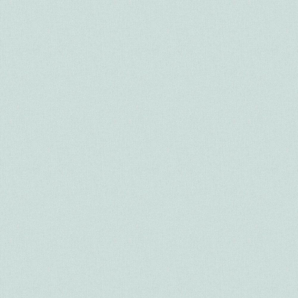 Caselio Linen Turquoise Silver Wallpaper - Product code: LINN68526899