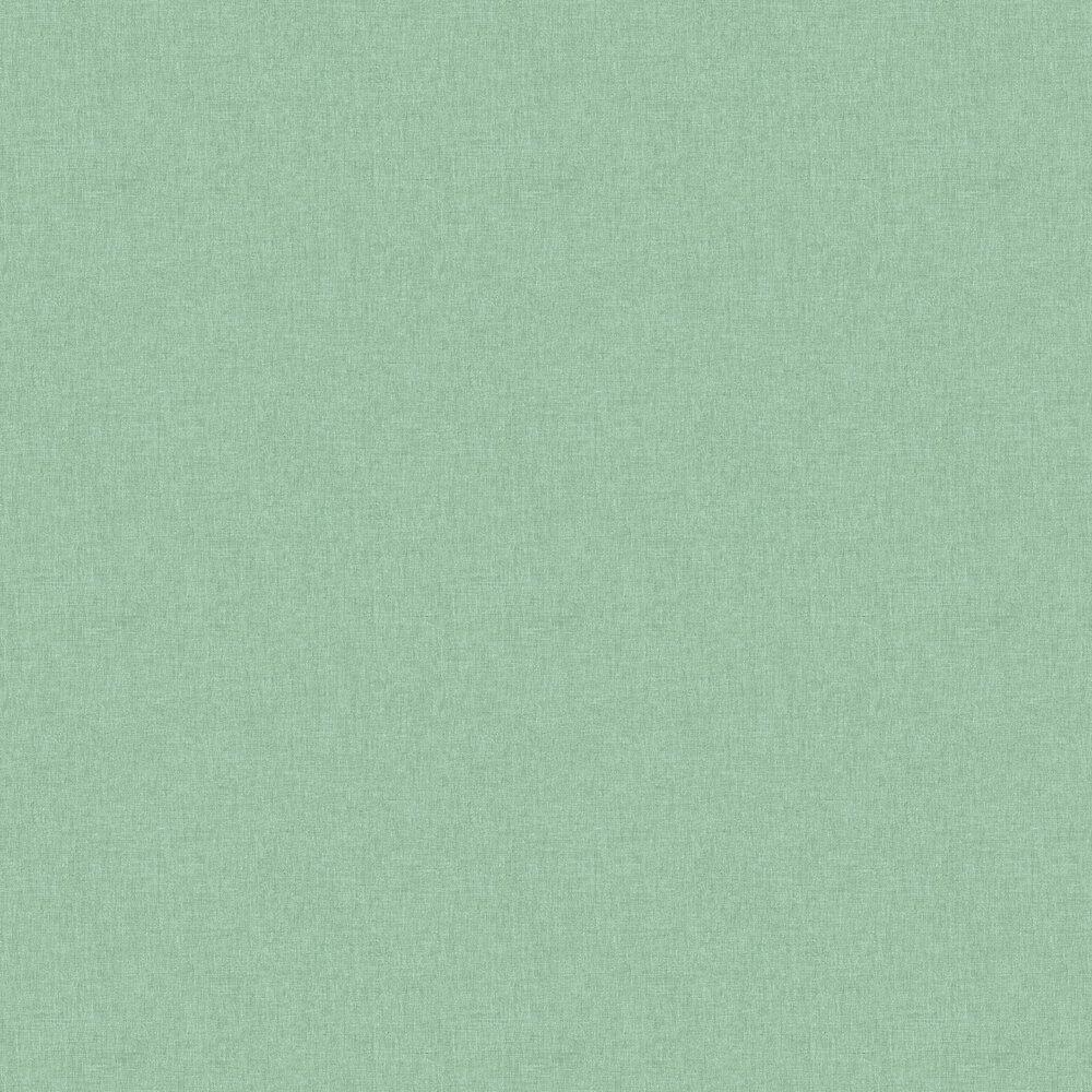 Linen Wallpaper - Green - by Caselio