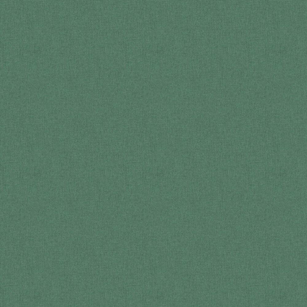Linen Wallpaper - Green Gold - by Caselio