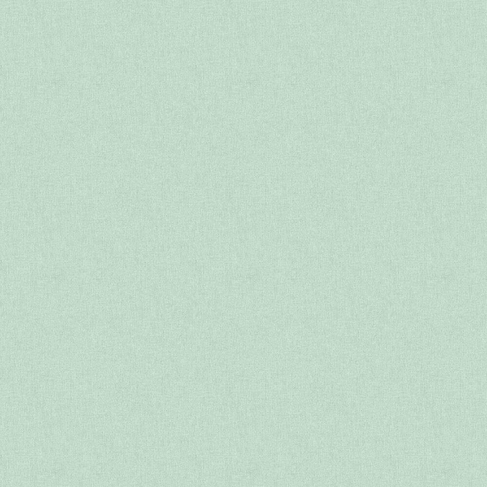 Linen Wallpaper - Pale Green - by Caselio