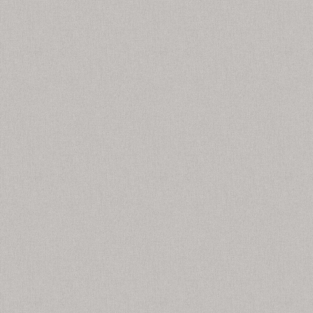 Linen Wallpaper - Silver Grey - by Caselio