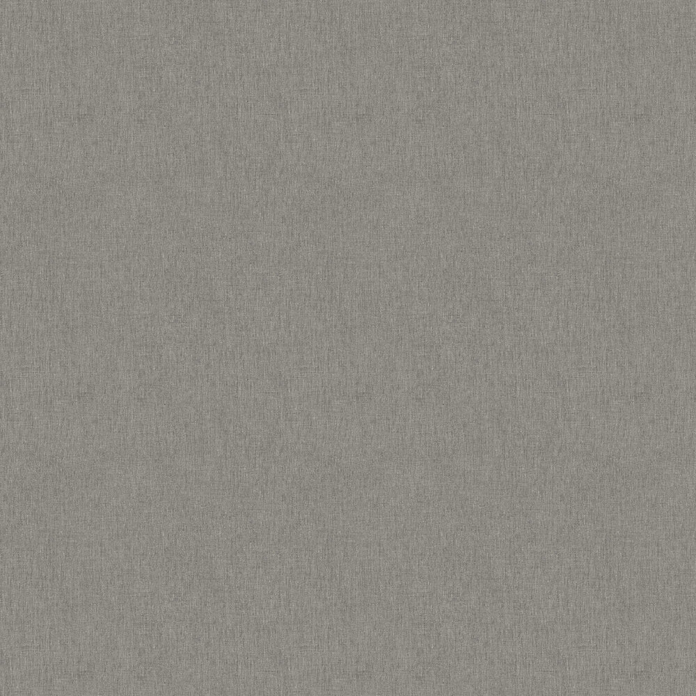 Linen Wallpaper - China Grey - by Caselio