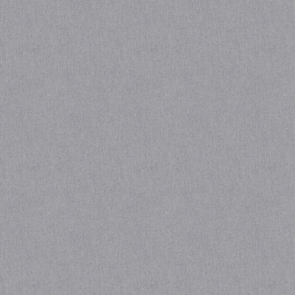 Linen Wallpaper - Charcoal Grey - by Caselio