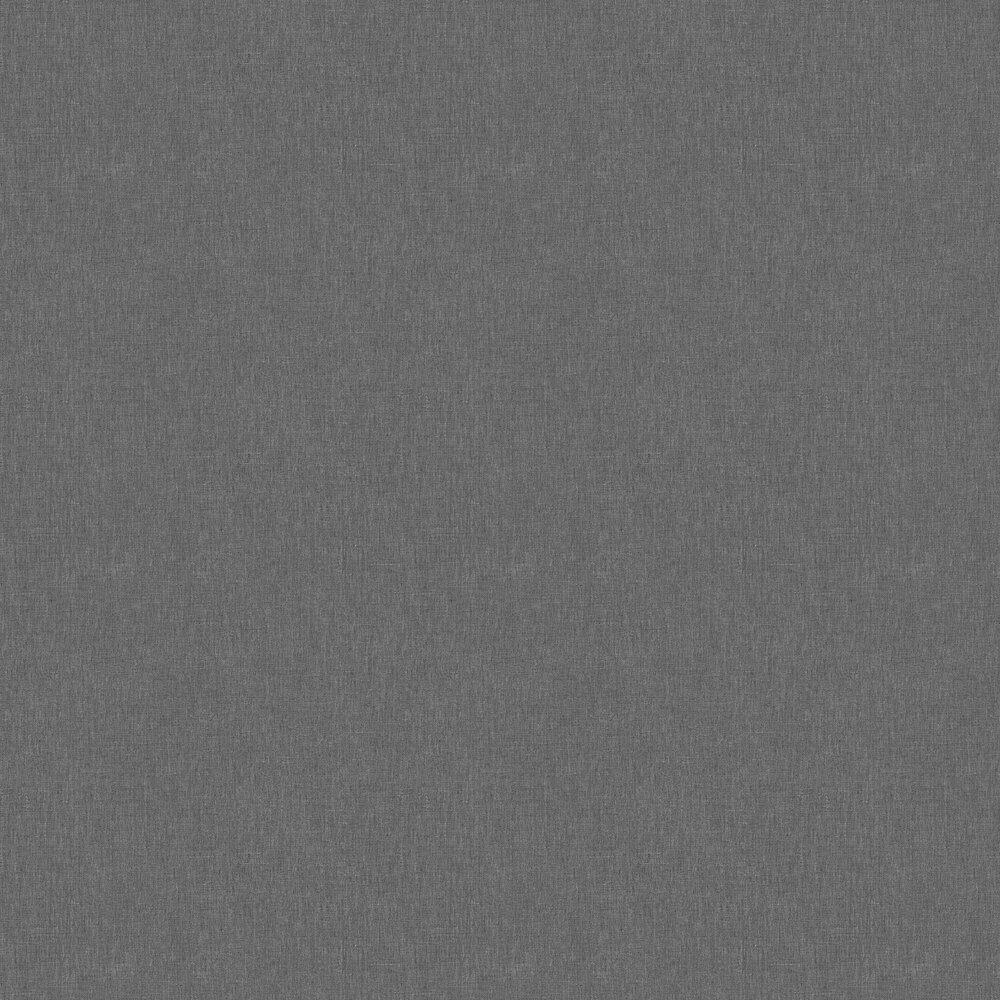 Caselio Linen Noir Wallpaper - Product code: LINN68529900