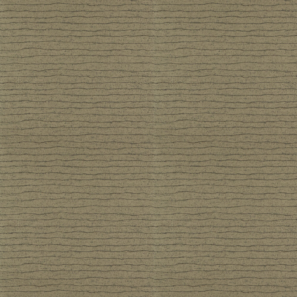Nisiros Wallpaper - Bronze and Basalt - by Anthology