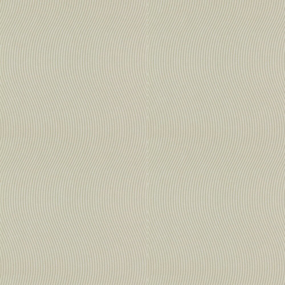 Groove Wallpaper - Limestone - by Anthology