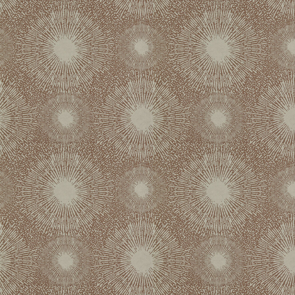 Perlite Wallpaper - Concrete and Bronze Ore - by Anthology