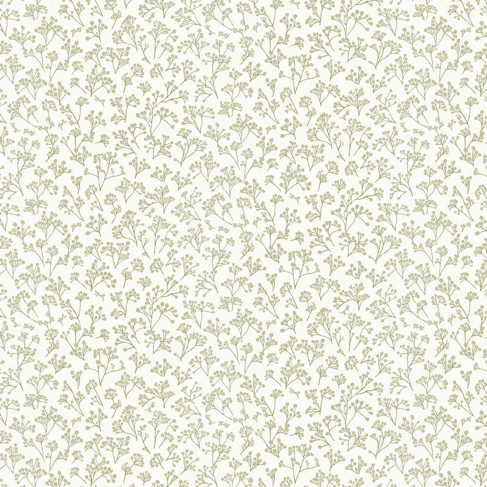Caselio Poppy Green Wallpaper - Product code: SNY10025 70 05