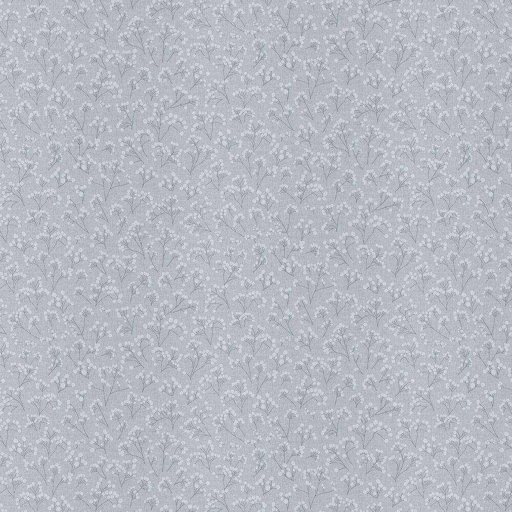 Poppy Wallpaper - Grey - by Caselio