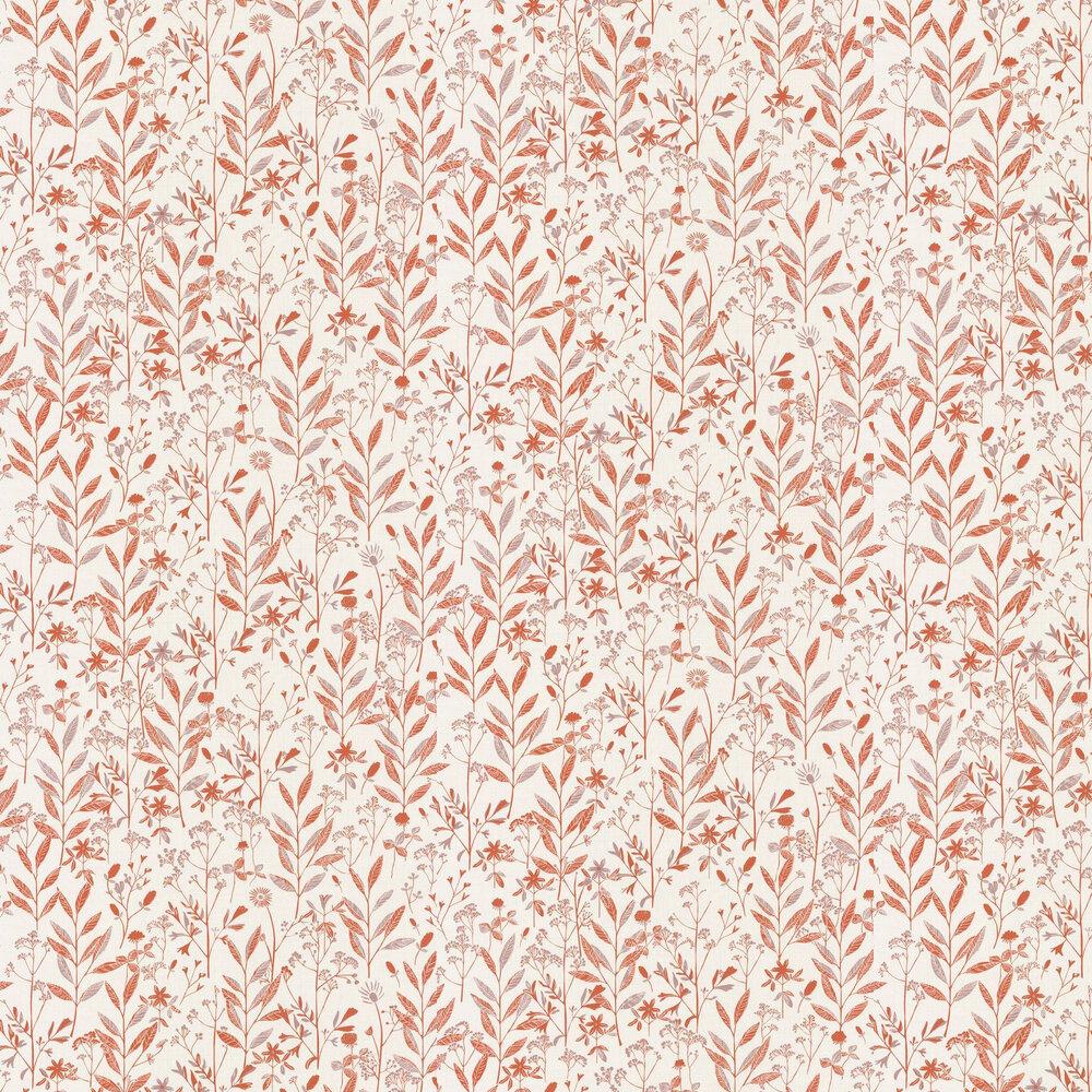 Caselio Laura Orange Wallpaper - Product code: SNY10026 40 44