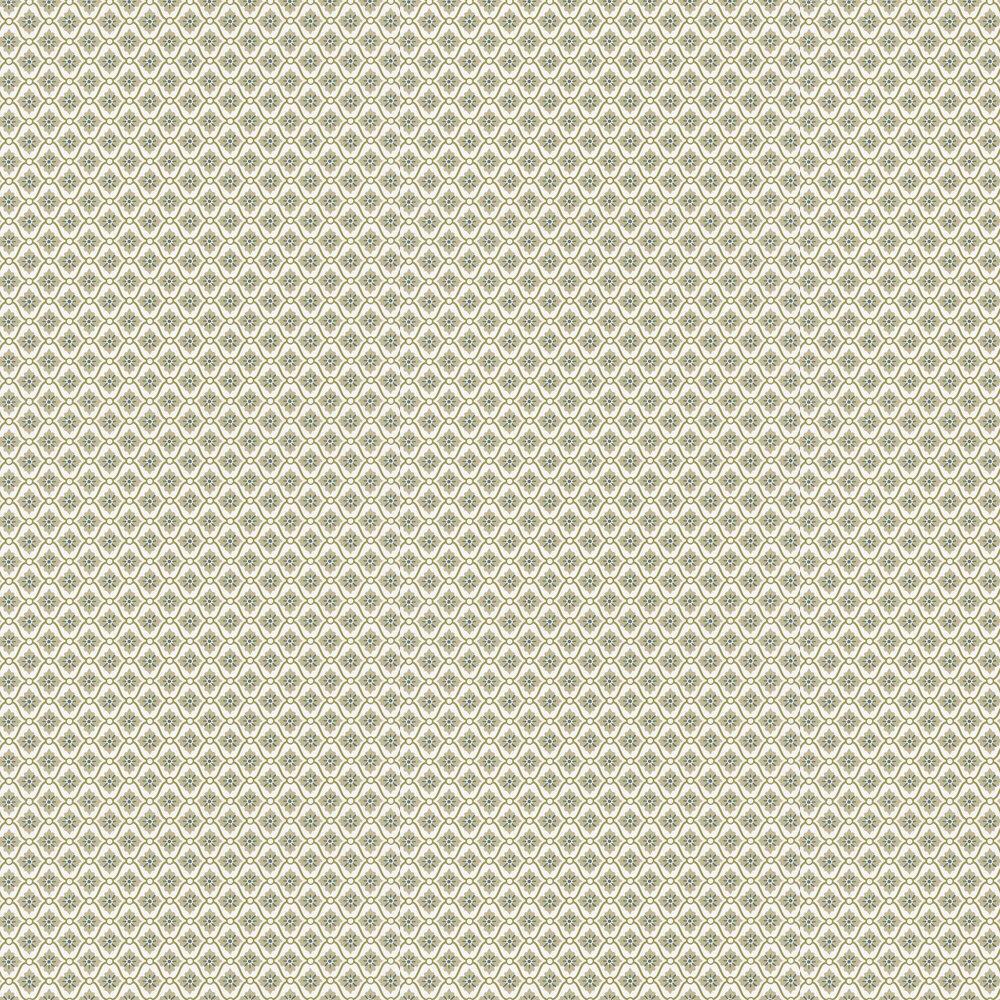 Caroline Wallpaper - Green - by Caselio