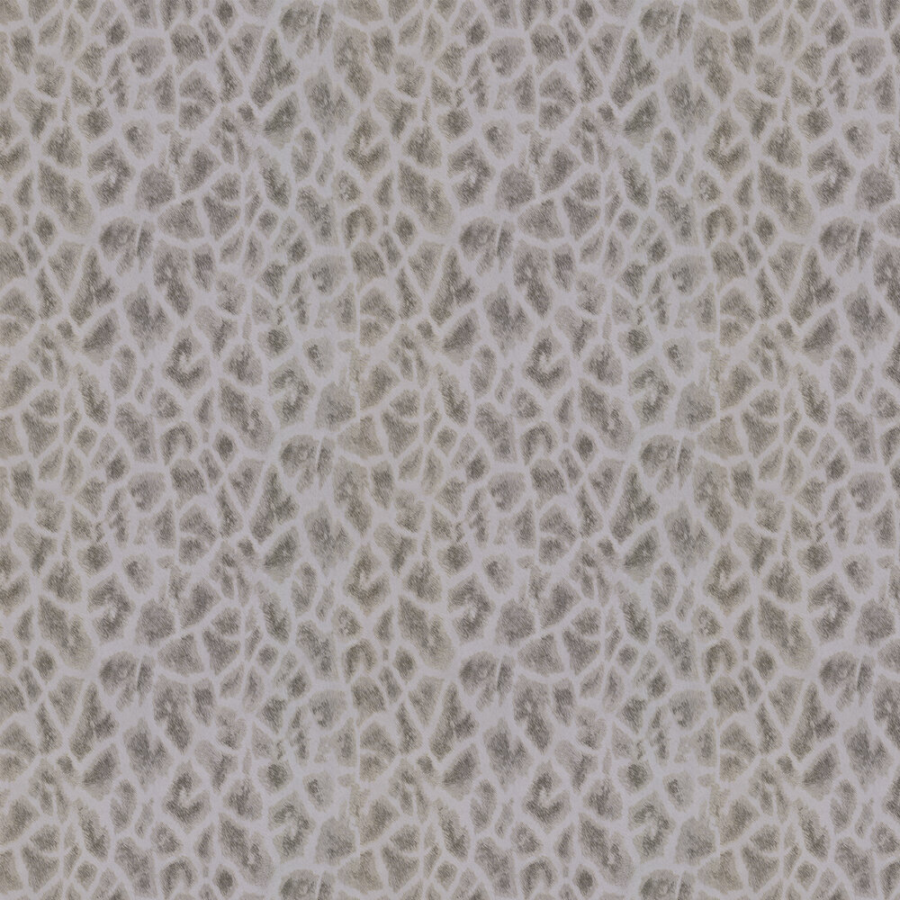 Albany Giraffe Faux Fur Gold/ Grey Wallpaper - Product code: 88709