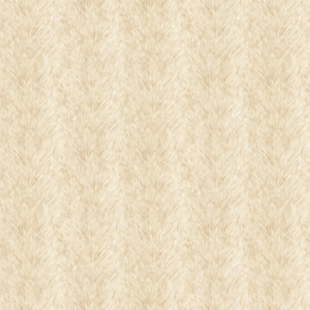 Wolf Fur Faux By Albany Light Yellow Wallpaper 88718