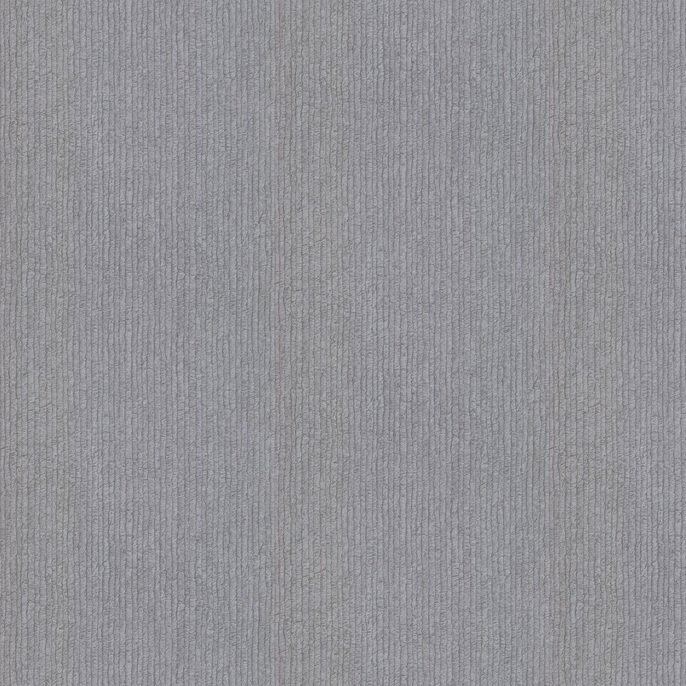 Albany Stripe Fur Effect Dark Grey Wallpaper - Product code: 88727