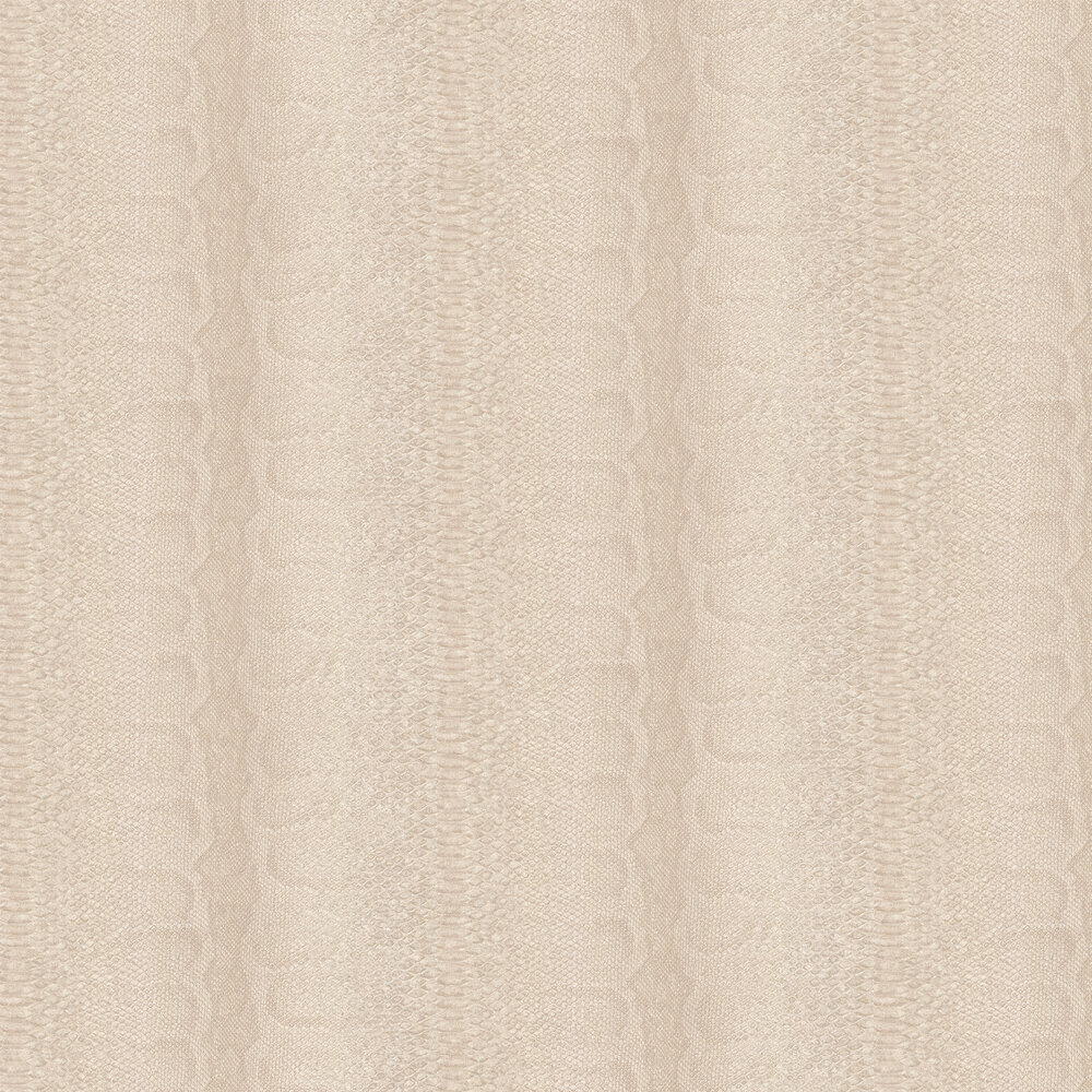 Albany Python Skin Faux Beige Wallpaper - Product code: 88728