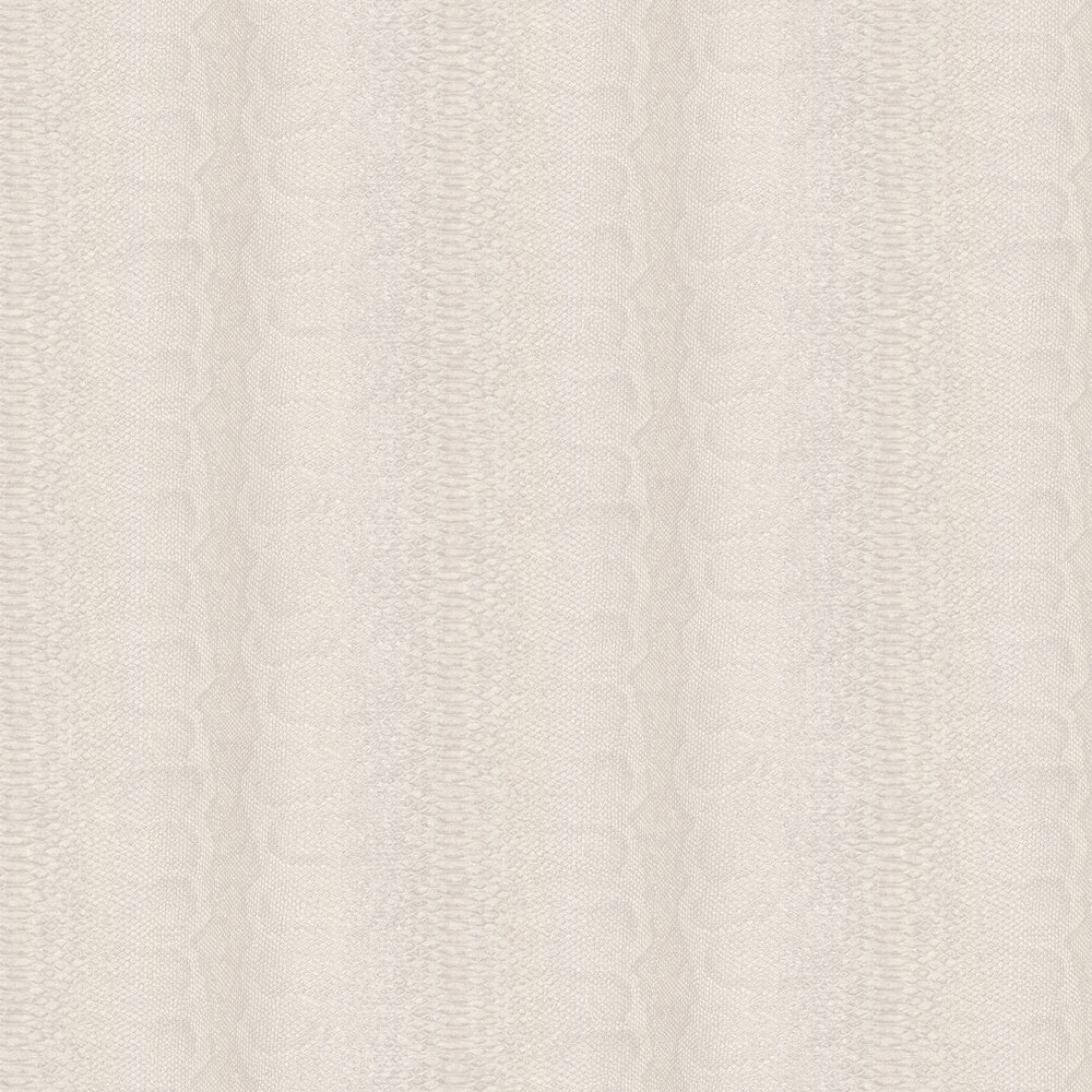 Python Skin Faux Wallpaper - Cream - by Albany