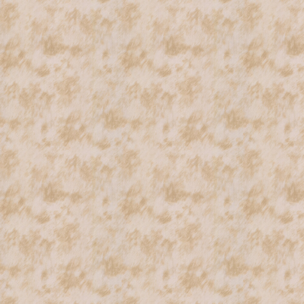 Cow Fur Faux Wallpaper - Silver/ Beige - by Albany