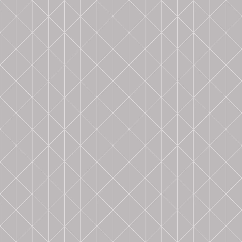 Diamonds Wallpaper - Grey and Silver - by Engblad & Co