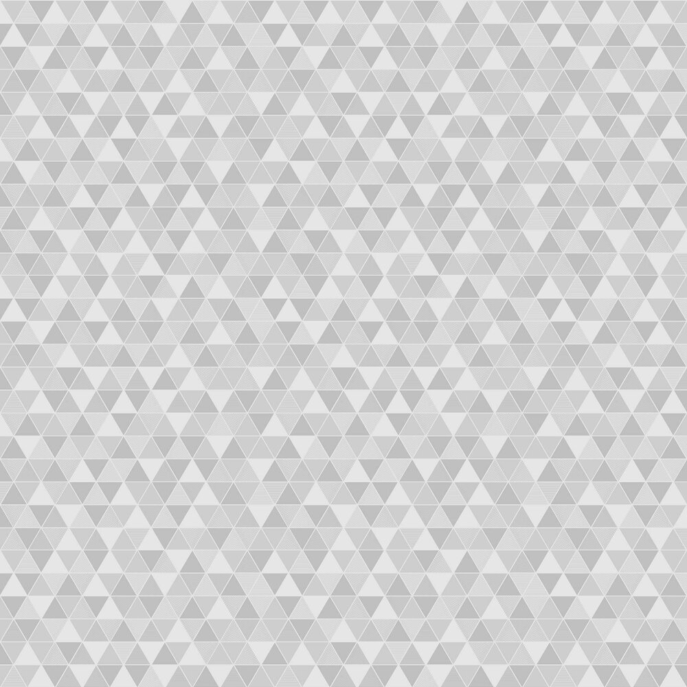 Triangular Wallpaper - Grey and White - by Engblad & Co
