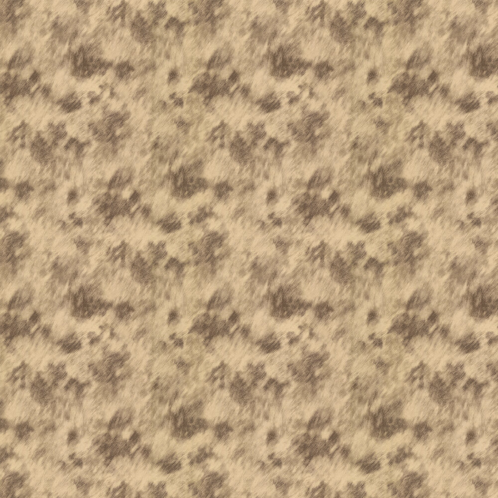Albany Cow Fur Faux Gold/ Coffee Wallpaper - Product code: 88747