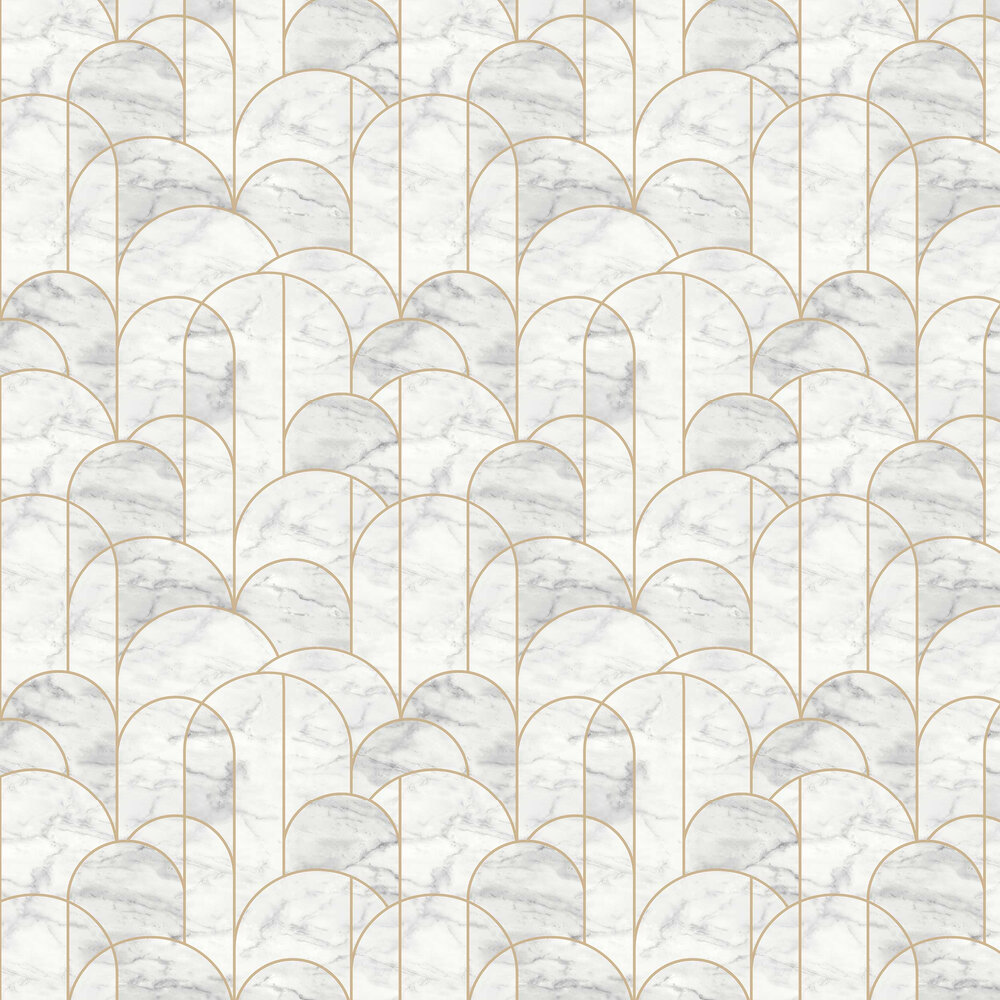 Engblad & Co Arch Grey and White Wallpaper - Product code: 8823