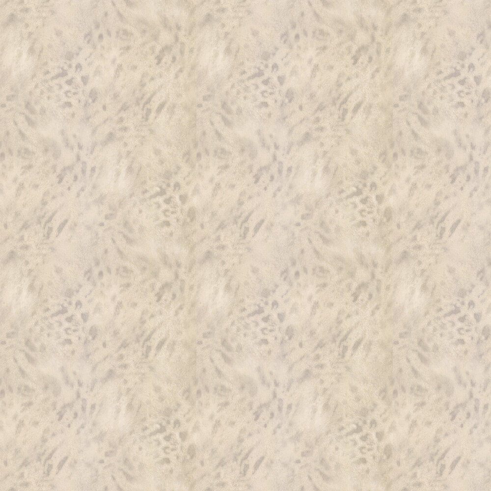 Jaguar Fur Faux Wallpaper - Gold/ Cream - by Albany