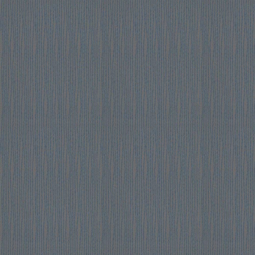 Ventris Wallpaper - Indigo - by Threads