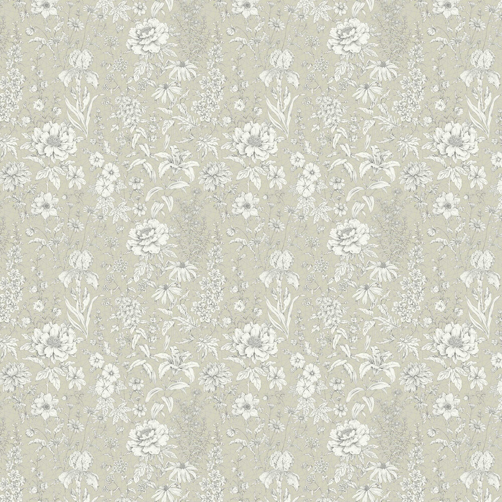 Lavana Floral Wallpaper - Green - by Albany