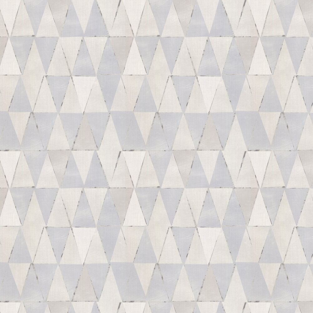 Diamond Geo Wallpaper - Grey - by Galerie