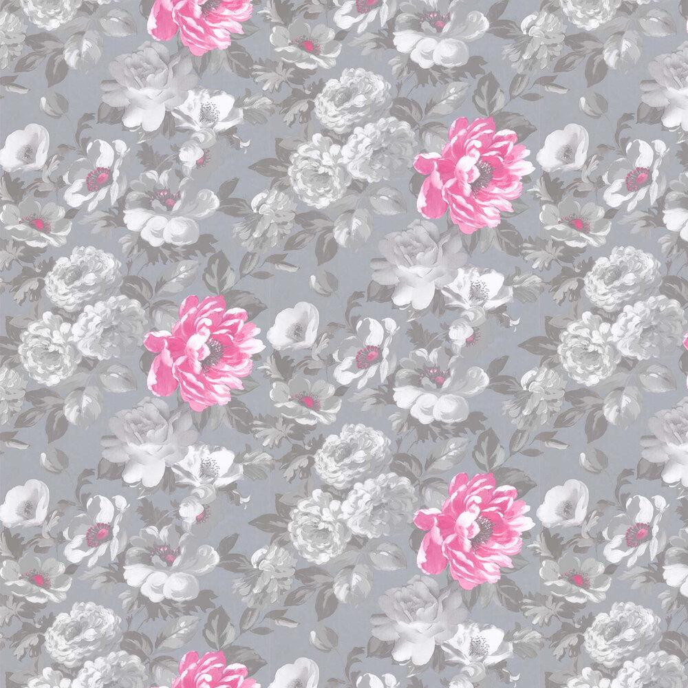 Roseus Wallpaper - Peony - by Designers Guild