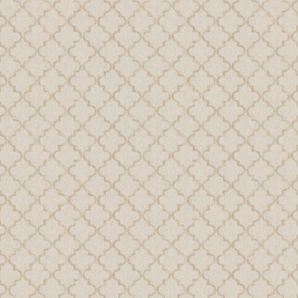 Eternal Harmony Wallpaper - Brown & Beige - by Boråstapeter