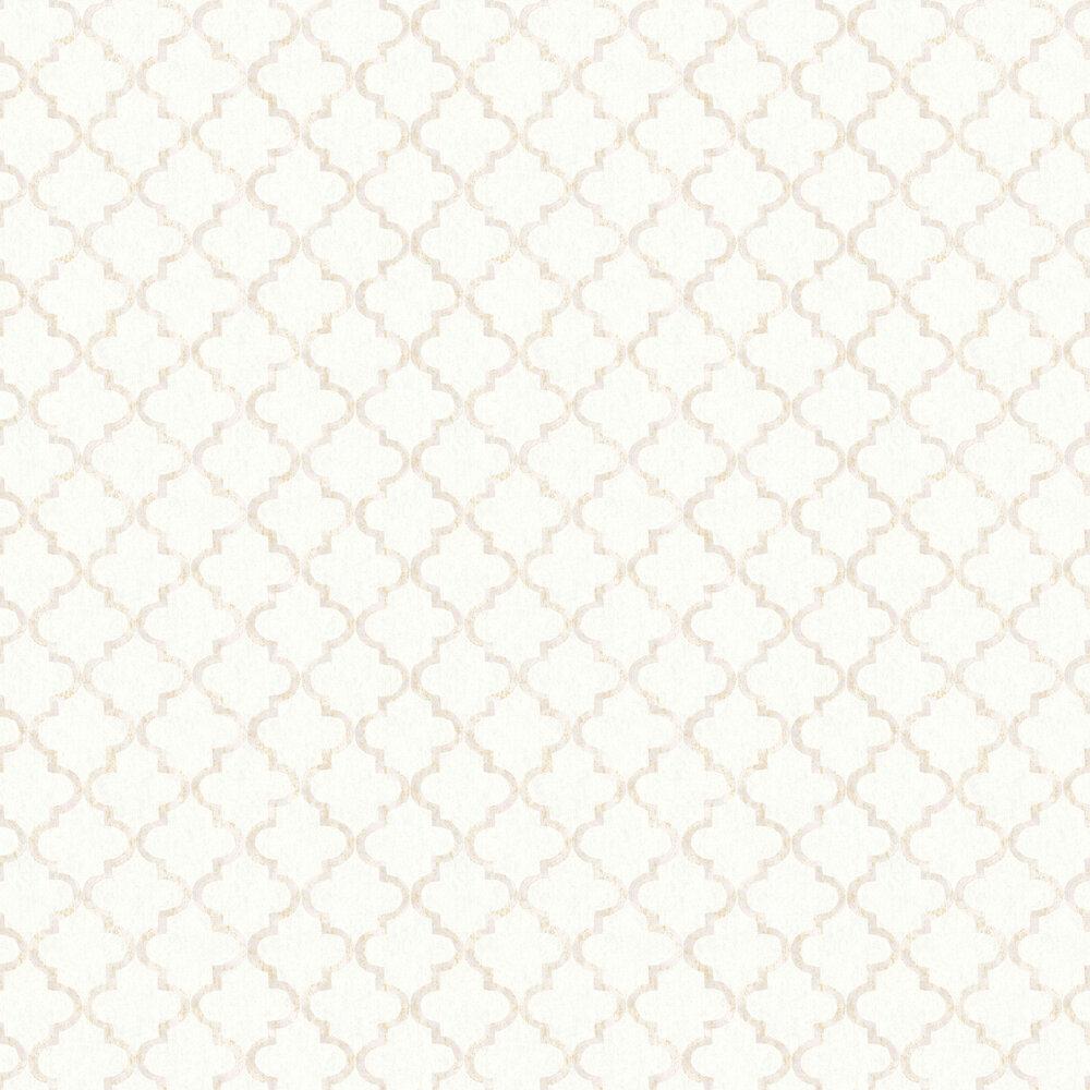 Eternal Harmony Wallpaper - White - by Boråstapeter