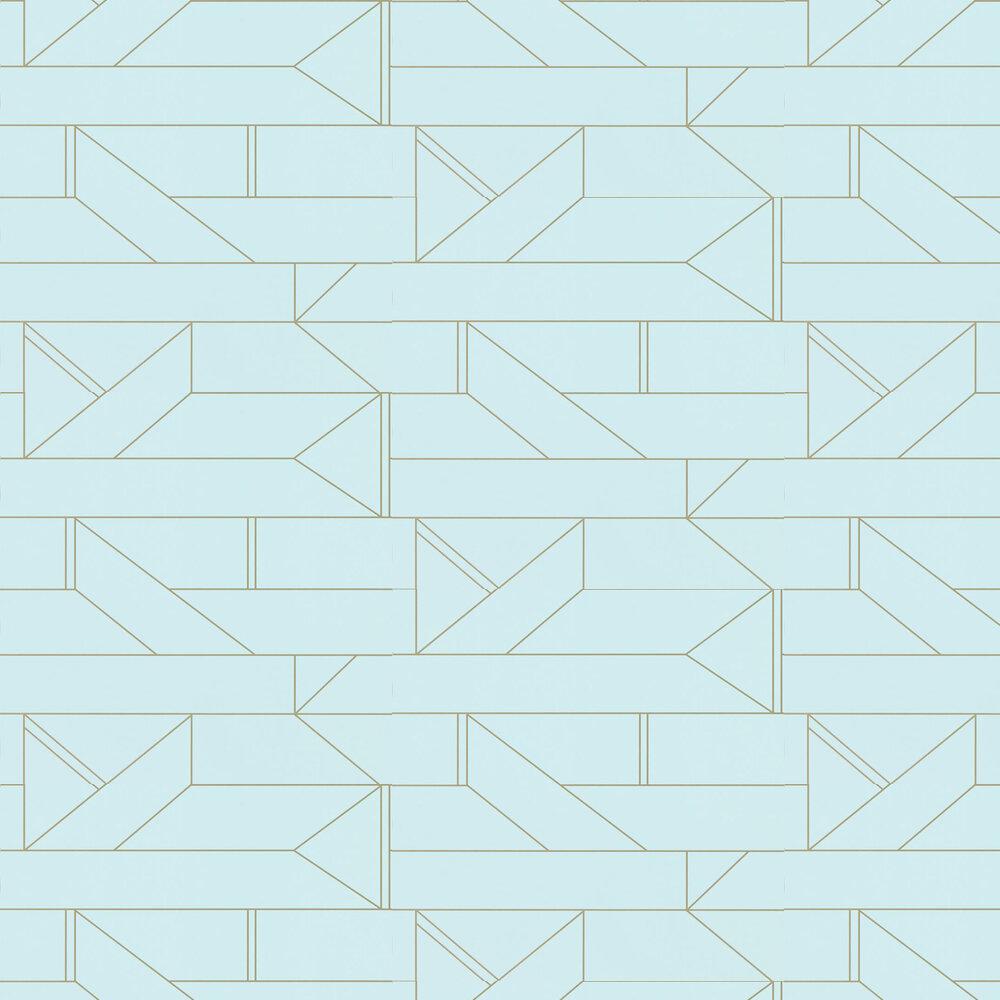 Barbican Wallpaper - Sky - by Scion