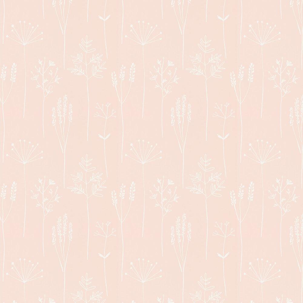 Stipa Wallpaper - Blush - by Scion
