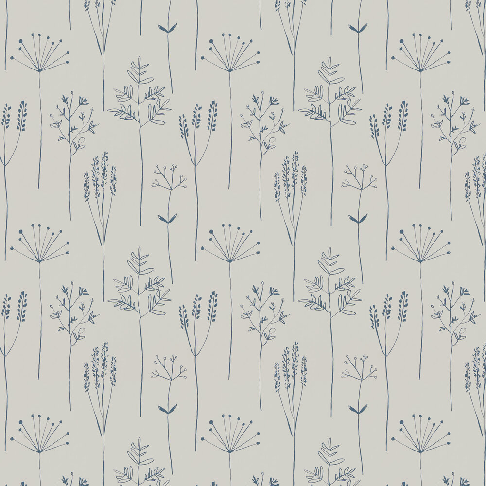 Scion Stipa Denim Wallpaper - Product code: 112019