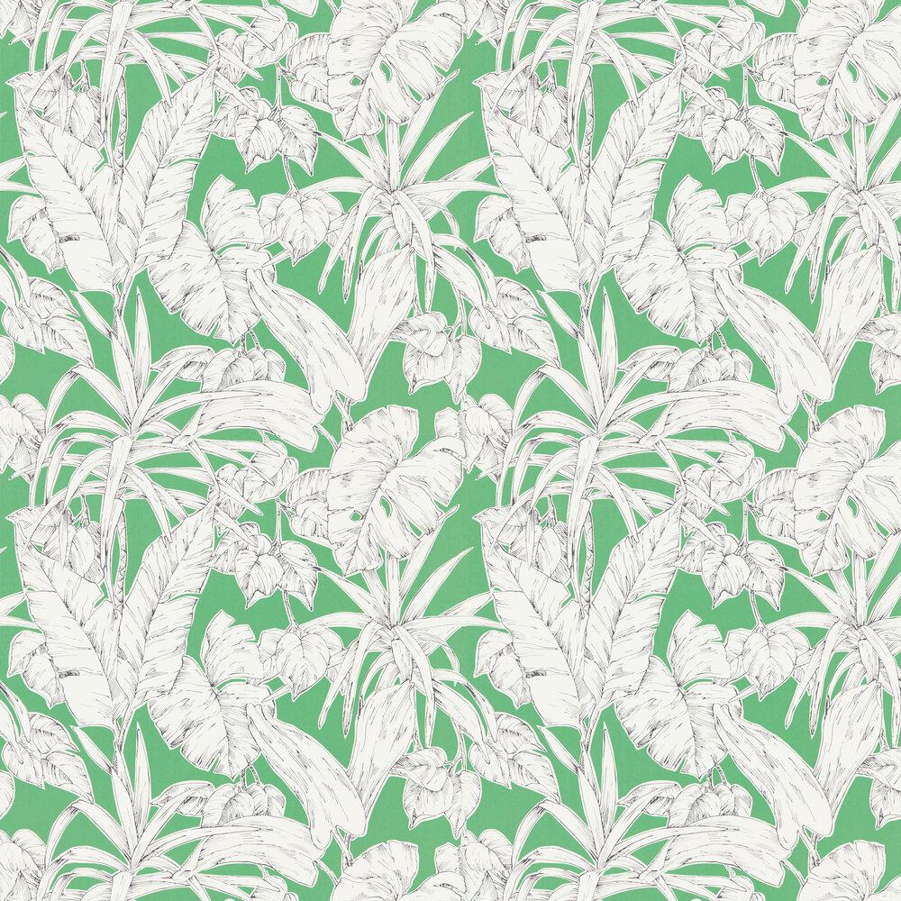 Parlour Palm Wallpaper - Gecko - by Scion