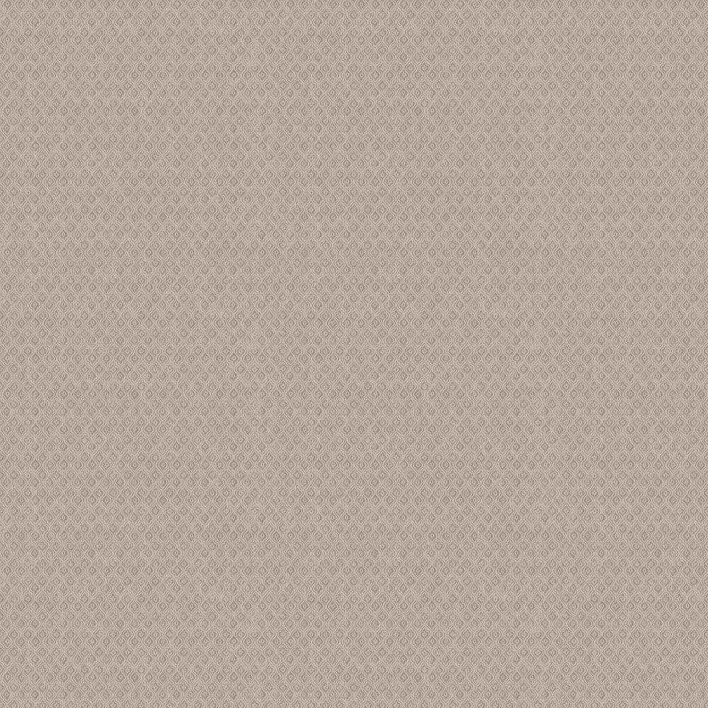 Jaipur Linen Wallpaper - Brown & Beige - by Boråstapeter