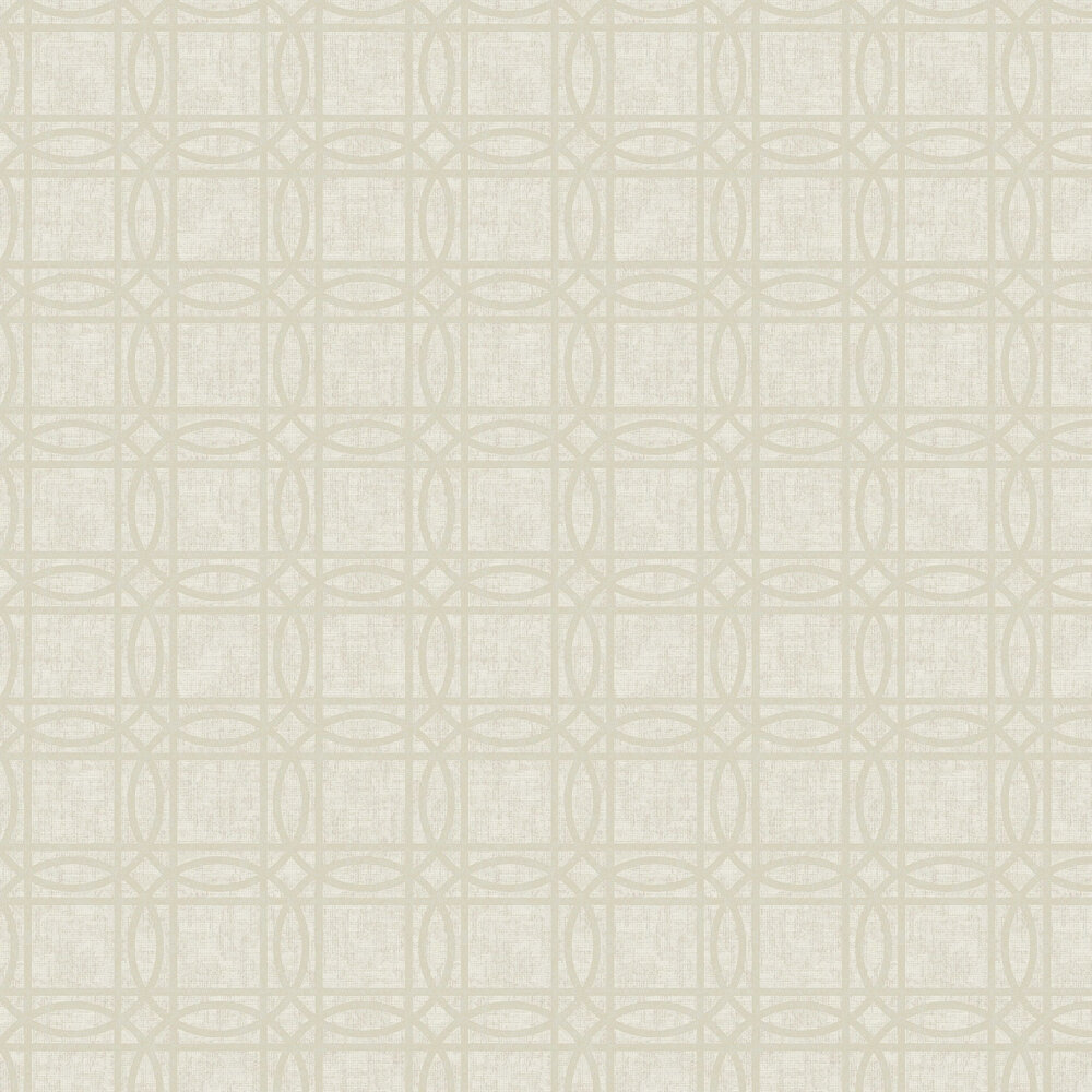 Geo Kiss Foil Wallpaper - Rose Gold - by Arthouse