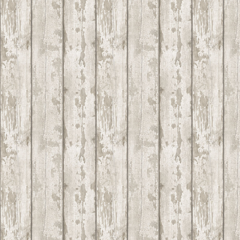 White Washed Wood Wallpaper - by Arthouse
